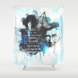 Dumbledore Shower Curtain