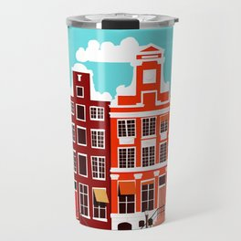 Vintage Amsterdam Holland Travel Travel Mug