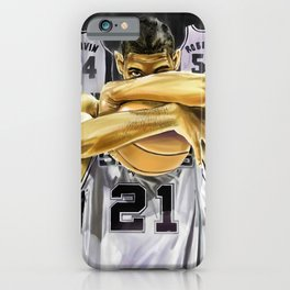 Duncan and the three pillars iPhone Case