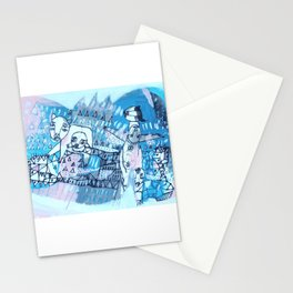 Journey to the Three Sisters Stationery Cards