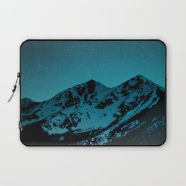 Mountains at night I // Boulder Colorado Laptop Sleeve