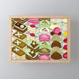 Cakes Cakes Cakes! Framed Mini Art Print
