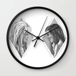 As the world falls down Wall Clock