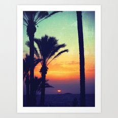 Ibiza Sunrise Art Print