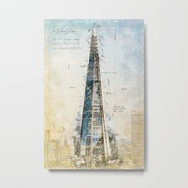 The Shard, London England Metal Print