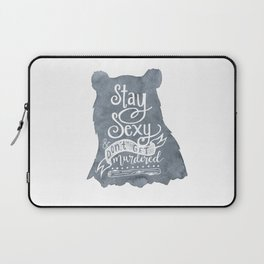 SSDGM Bear Laptop Sleeve