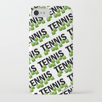 tennis iPhone & iPod Cases featuring Tennis by joanfriends