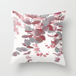 Eucalyptus - Autumn Color Throw Pillow
