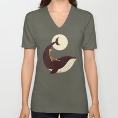 The Giraffe & the Whale Unisex V-Neck