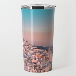 Sunset in Greece Photography  Travel Mug