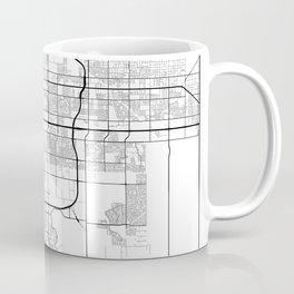 Minimal City Maps - Map Of Mesa, Arizona, United States Coffee Mug