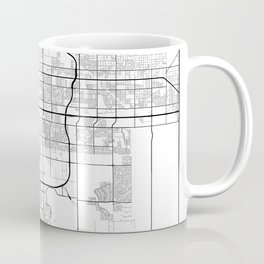 Minimal City Maps - Map Of Mesa, Arizona, United States Coffee Mug