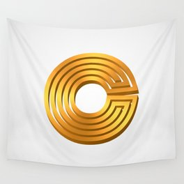 Letter C Wall Tapestry