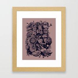 Mictecacihuatl Framed Art Print