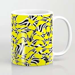 Yellow Prickly Scraps Coffee Mug
