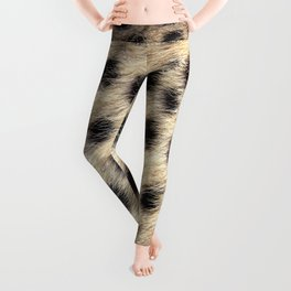Cheetah Pattern Style Leggings