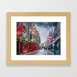 Dublin art #dublin Framed Art Print