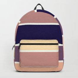 Mauve Stripes Backpack