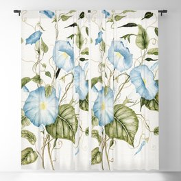 Morning Glories Blackout Curtain