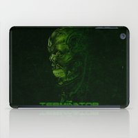 terminator iPad Cases featuring The Terminator - Version 2 by Mark A. Hyland (MAHPhoto)