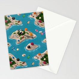 Trash Islands Stationery Cards