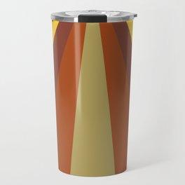 Browns tones Digital Painting prisma for Home Decor and Wall Art Travel Mug