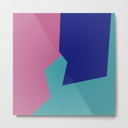Minimalism Abstract Colors #9 Metal Print
