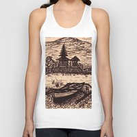 bali Tank Tops featuring Bali Boating by Erica Putis