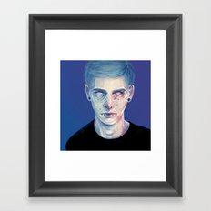 Star Freckles Framed Art Print