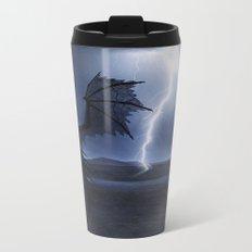 Dragon in the darkness Metal Travel Mug