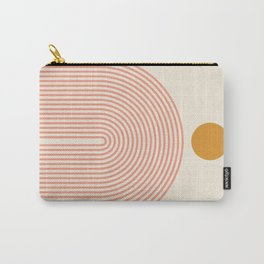 Abstraction_SUN_LINES_VISUAL_ART_Minimalism_001 Carry-All Pouch