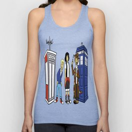 Bill & Ted & Who Unisex Tank Top