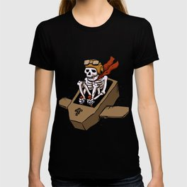 kamikaze  in flying coffin T-shirt