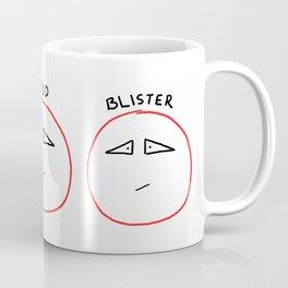 Blood Blister Coffee Mug