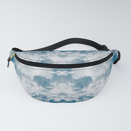 Heavenly Clouds Mandala | X Marks the Spot Fanny Pack