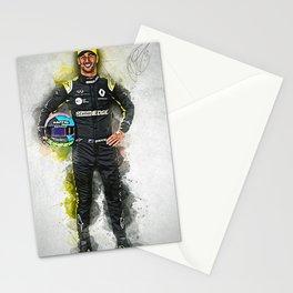 Daniel Ricciardo driver Stationery Cards