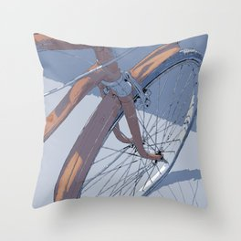 #inktober2016:transport Throw Pillow