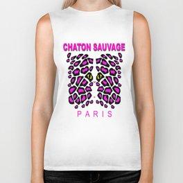 Chaton Sauvage Paris Biker Tank