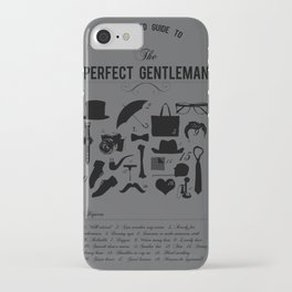 The Perfect Gent iPhone Case