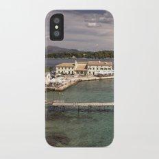 Corfu Seascape iPhone X Slim Case