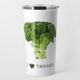 Broccoli - I love veggies Travel Mug