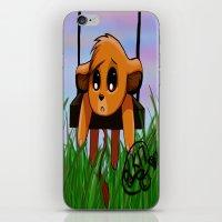 simba iPhone & iPod Skins featuring Chibi Simba by LK17