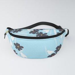 Flower basket snowdrops Fanny Pack