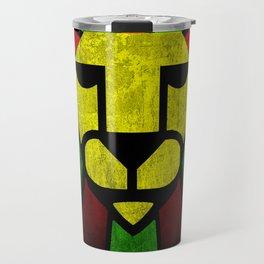 Rasta Lion. Travel Mug