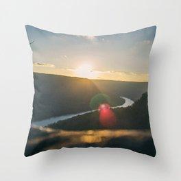 Signal Point Sunset Throw Pillow