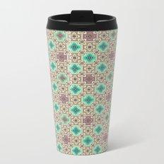 2 Oriental patterns Metal Travel Mug