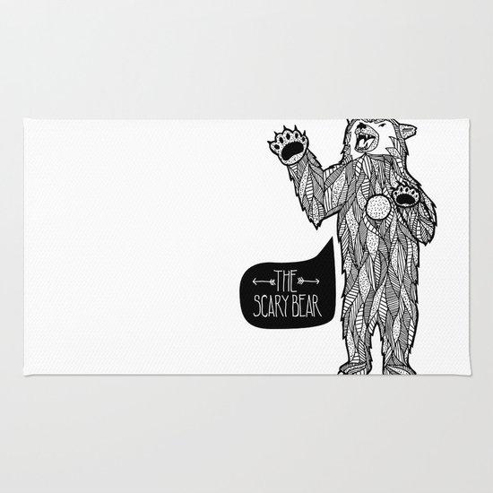 Scary Bear 2 Rug