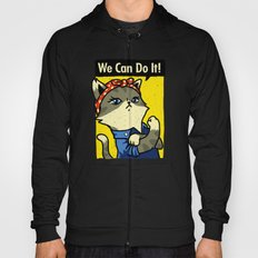 Purrsist! We Can Do It! Hoody