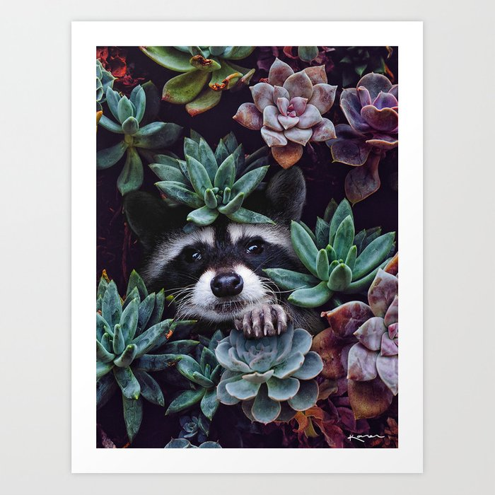 hello, you look gorgeous today. Art Print