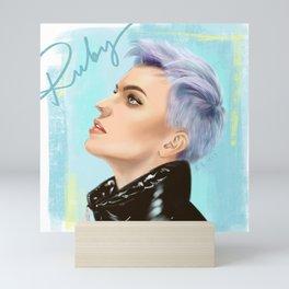 Ruby Rose #1 Mini Art Print